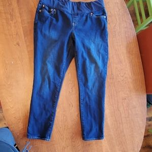 Gap Maternity Jeans Real Straight size 34R